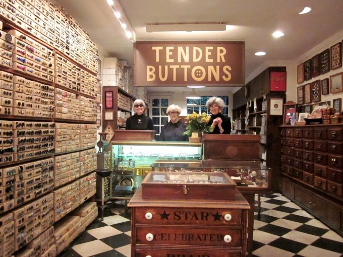 tender button nyc speciality store