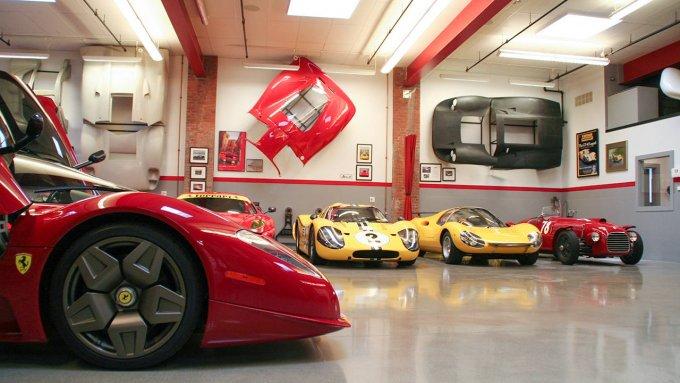 Un pezzetto del garage di Jim Glickenhaus - Via Road&Track