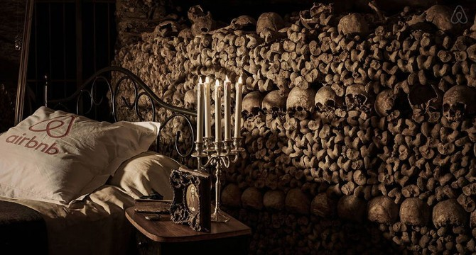 Airbnb nelle catacombe
