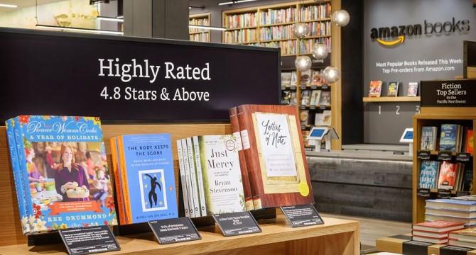 La prima libreria fisica di Amazon