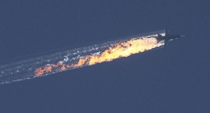Un caccia russo abbattuto in Siria