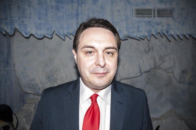 Andrea Diprè nella suite artica - foto: Gabriele Ferraresi