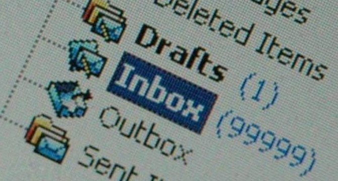 Inbox stracolma di email
