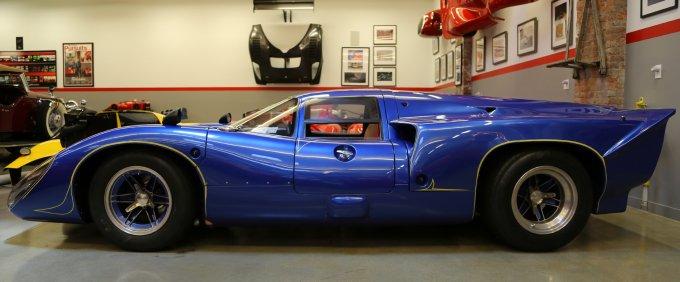 La Lola T70 che Jim acquistò da Andy Warhol