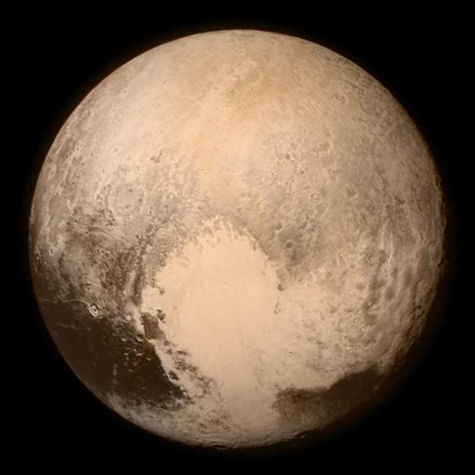 Plutone visto da New Horizons
