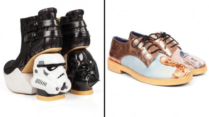 The Force Is Strong In These Epic Designer Shoes