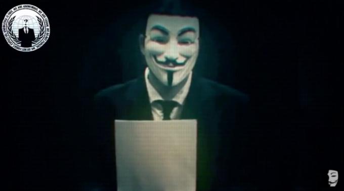 L'appello di Anonymous