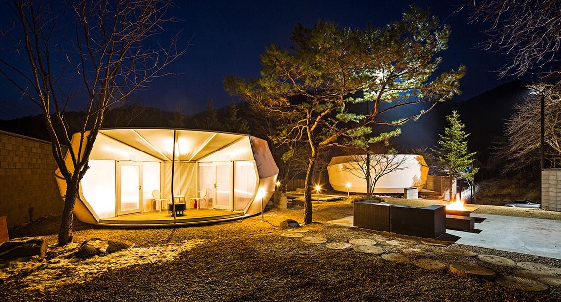 Queste tende di lusso faranno venire voglia di campeggio anche a chi dorme so...