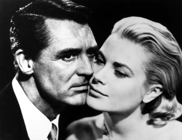 Grace Kelly e Gary Cooper foto in bianco e nero