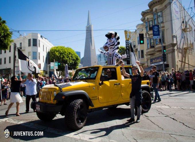 La mascotte J a San Francisco