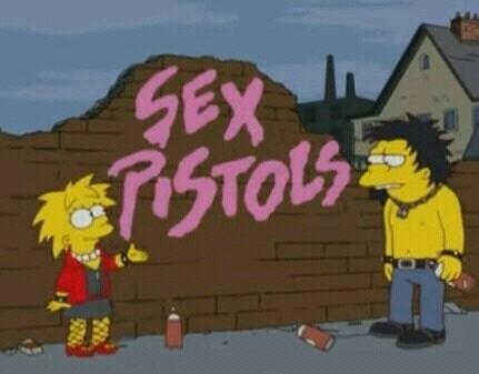 Sid e Nancy versione Simpson