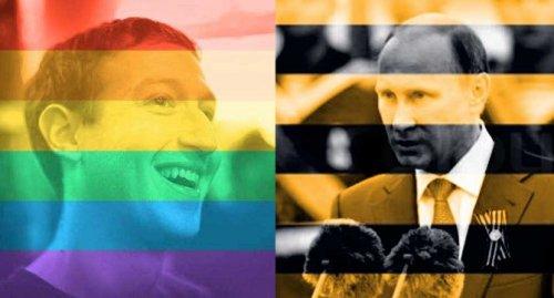 Zuckerberg vs Putin