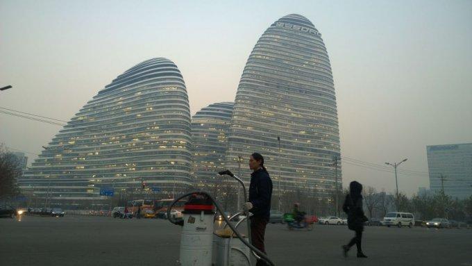 Nut Brother in giro per Pechino