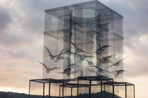 Installazione per il Meeting del Mare 2015 in Marina di Camerota,