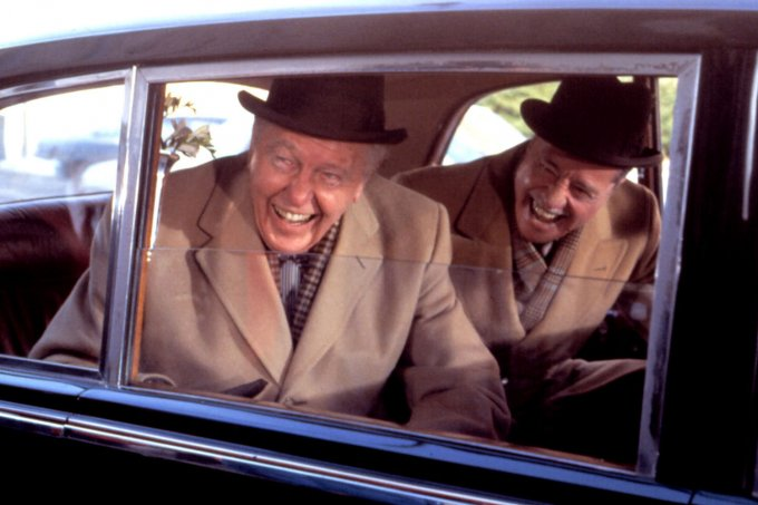 TRADING PLACES, Ralph Bellamy, Don Ameche, 1983