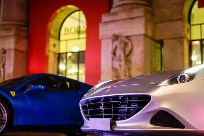 Ferrari in Borsa, letteralmente