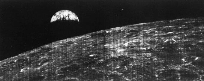 terra, luna, spazio