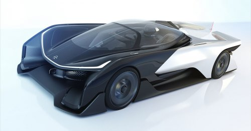 FFZERO1 concept - Faraday Future