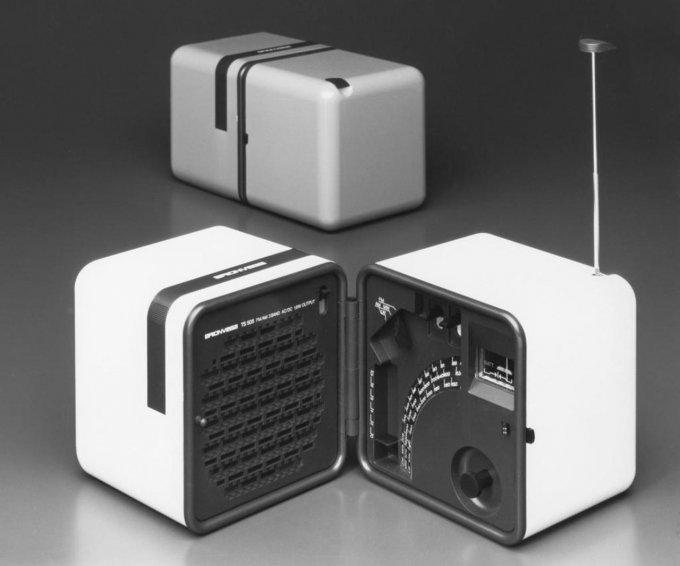 TS 505, con Marco Zanuso, 1977