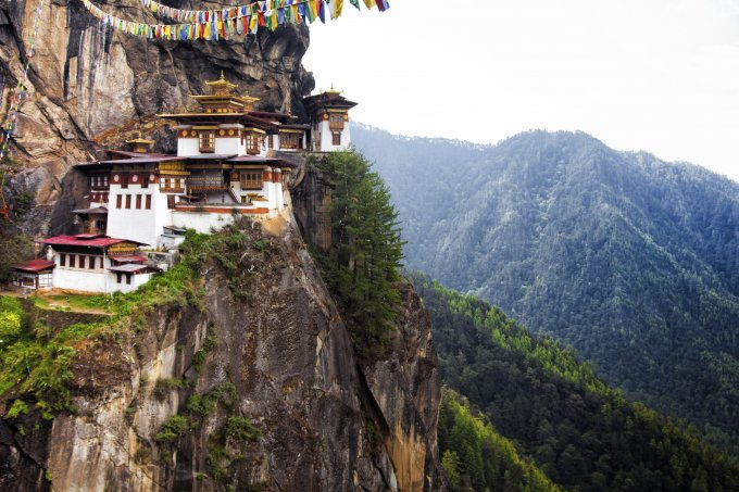 Tiger's Nest at Paro Bhutan