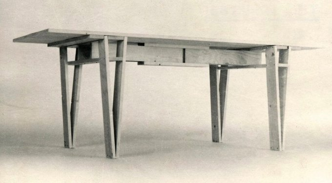 enzo mari autoprogettazione tavolo legno