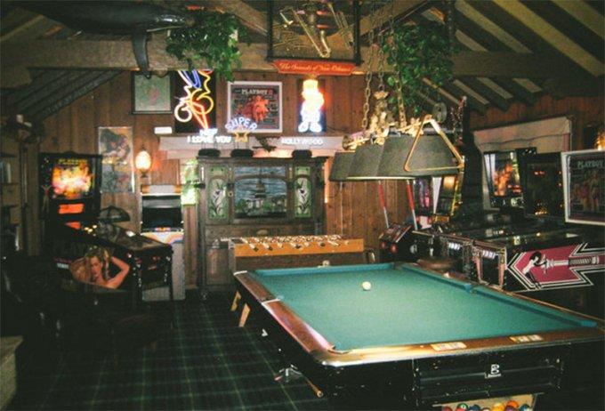 Sala giochi Playboy Mansion