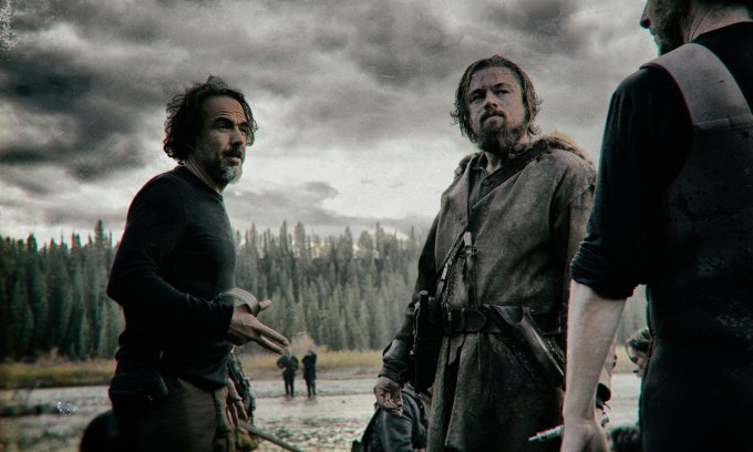 the revenant, set, Iñarritu, dicaprio, cinema