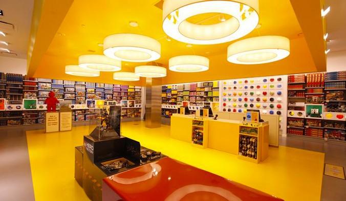 Un Lego Certified Store estero