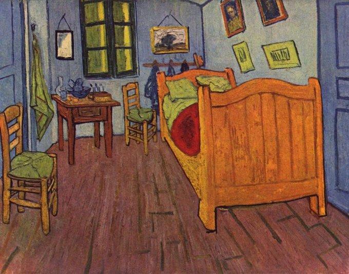 La camera di Vincent ad Arles, 1888