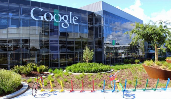 Il quartier generale di Google, a Mountain View