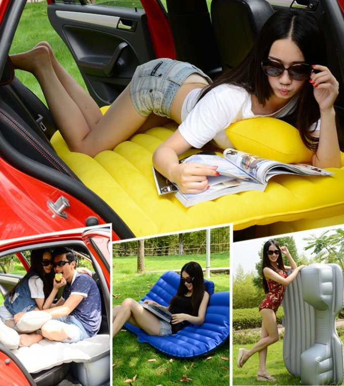 SUV-Car-Airbeds-Travel-mattress-inflatable-Bed-Parent-Child-Sleeping-Overnighter-For-Camping-With-Pume