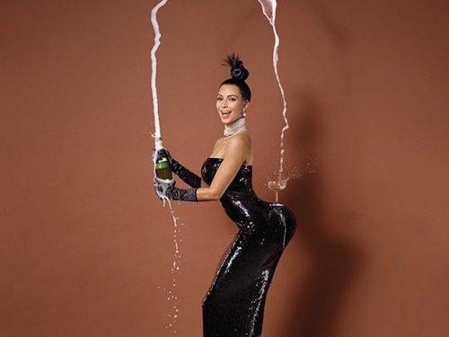 Kim Kardashian sulla cover di Paper
