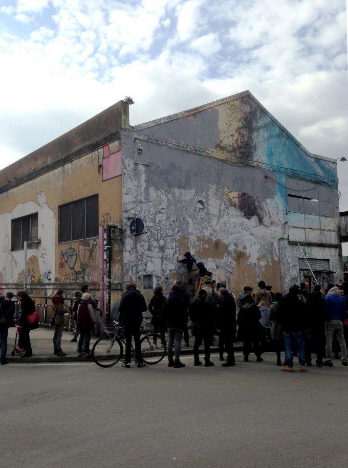 Blu cancella le sue opere a Bologna