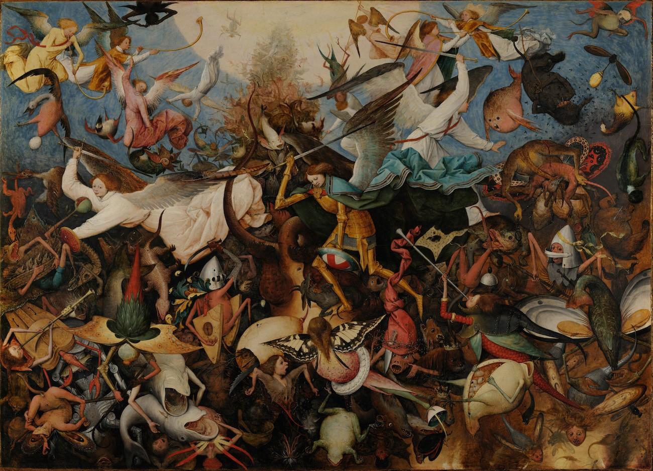 Pieter Bruegel il Vecchio, La caduta degli angeli ribelli,