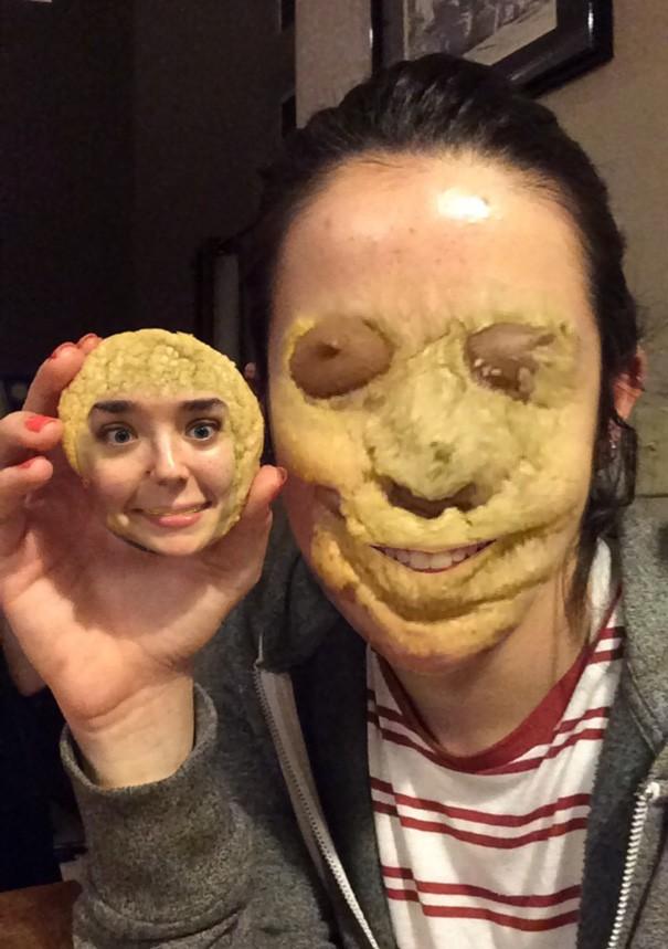 Faccia biscottata