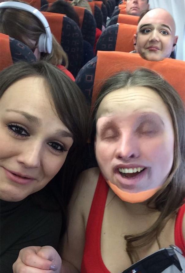 Scambi di faccia in viaggio