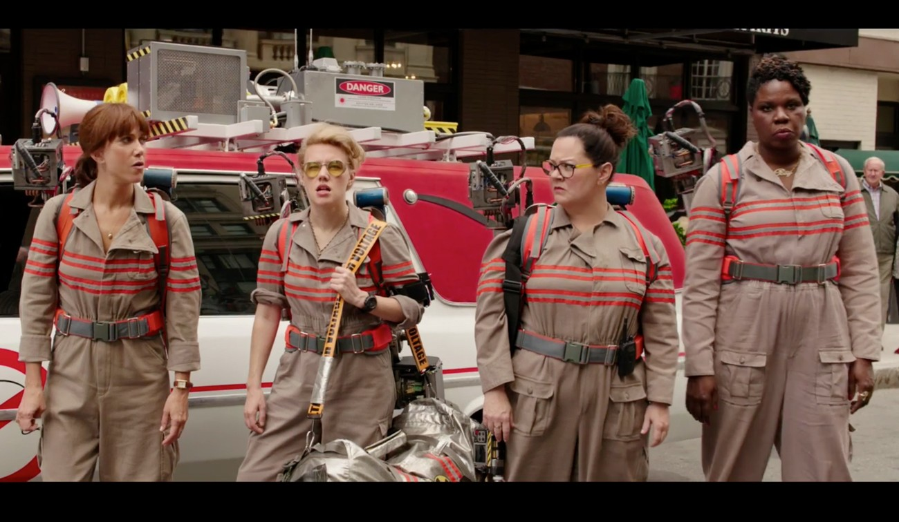 ghostbusters nuovo reboot