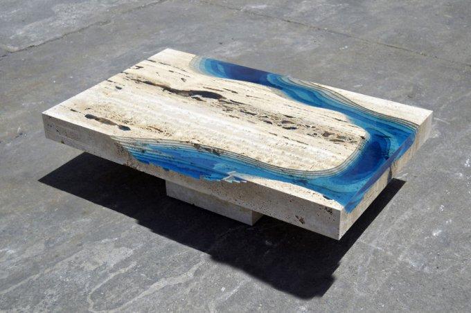 Il tavolo laguna di Alexandre Chapelin