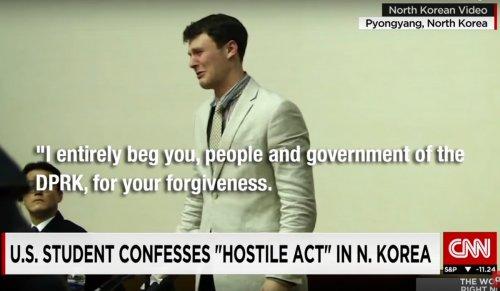 Otto Warmbier Corea del Nord condannato