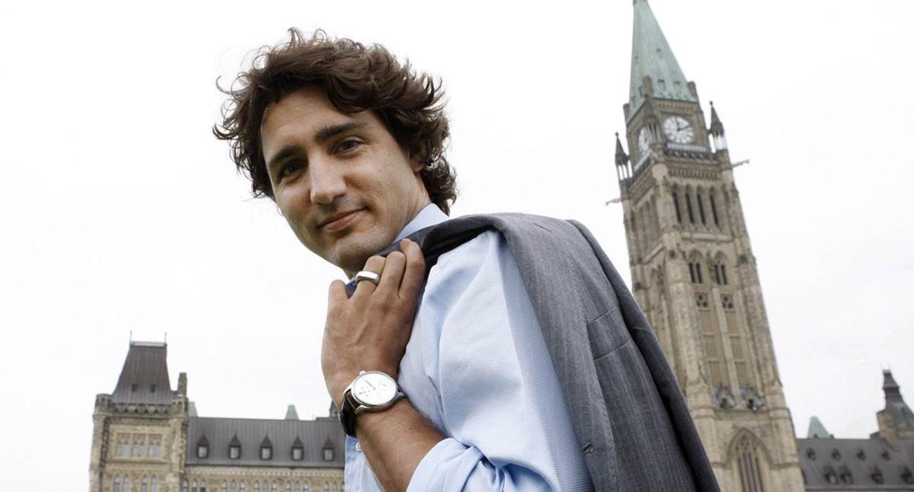 Risultati immagini per Primo Ministro canadese Justin Trudeau