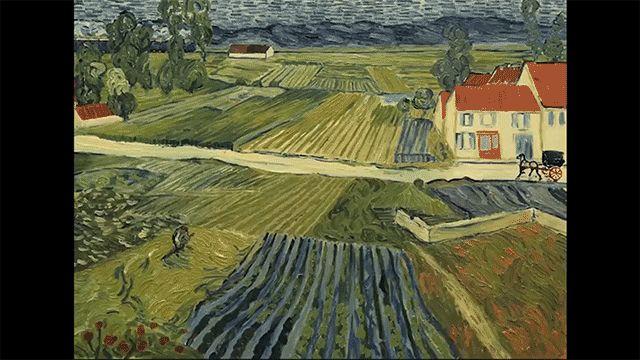 vincent van gogh film dipinti olio