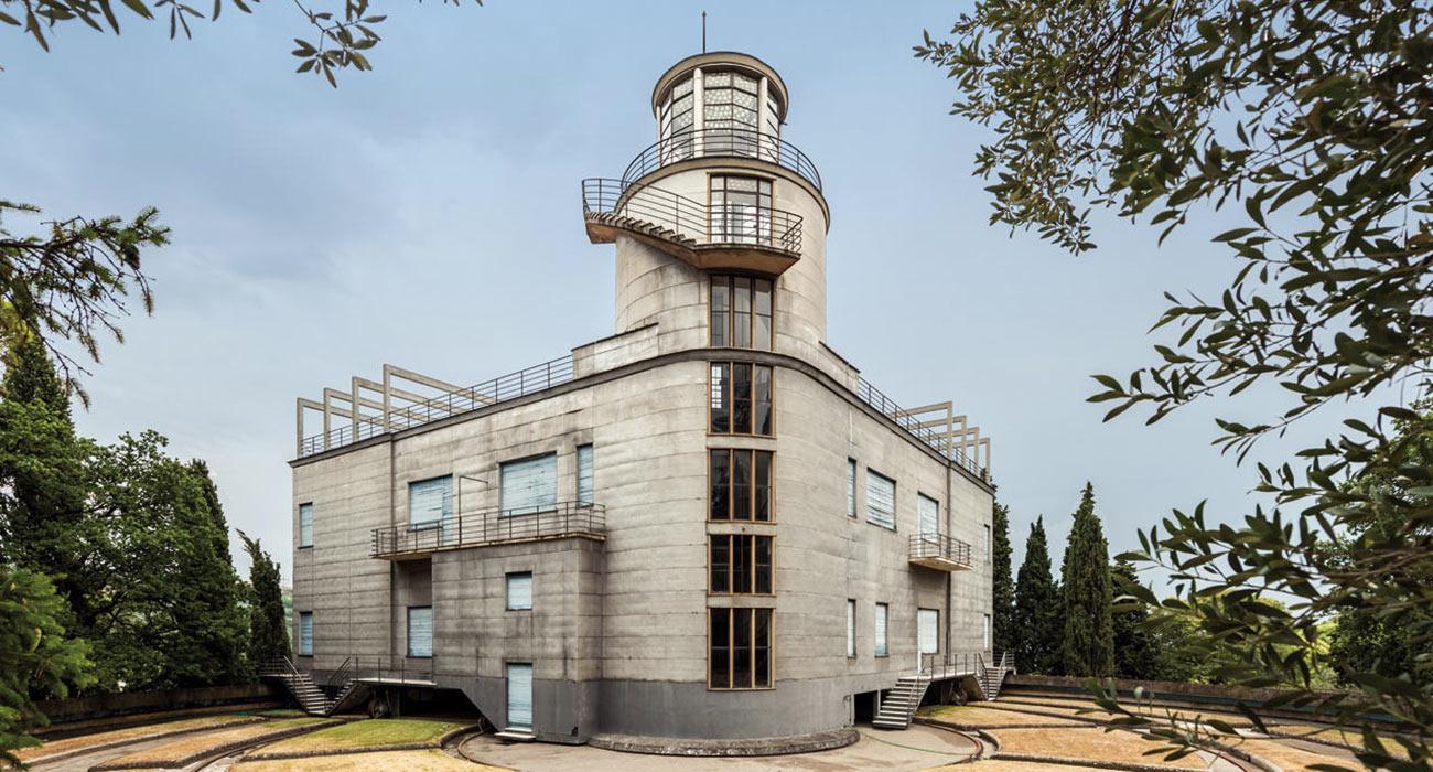 Villa Girasole, la casa che si muove su se stessa per essere sempre alla luce del sole