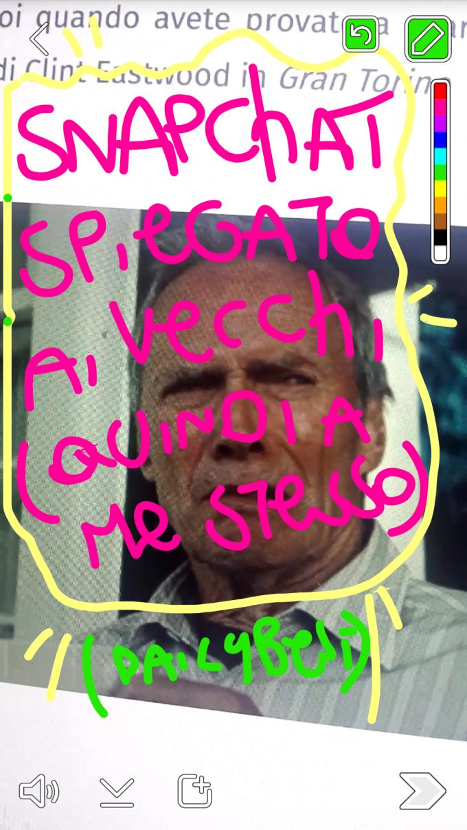 snapchat spiegato vecchi come me