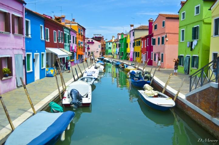 Burano, Venice, Italy - PH: DAVID MONROY città colorate