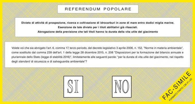 referendum trivellazioni