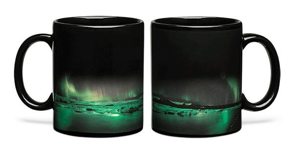 tazza aurora boreale