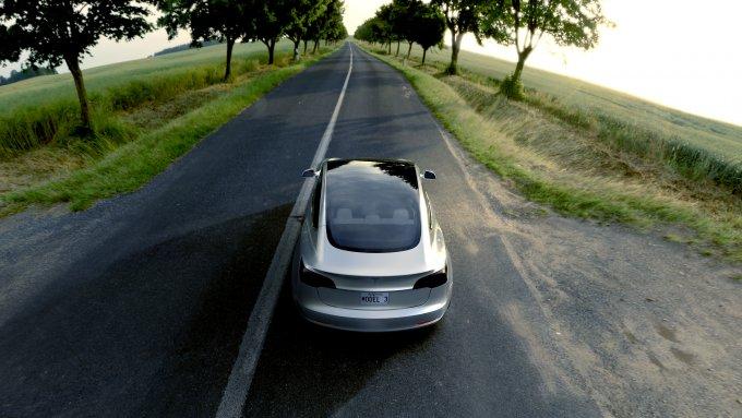 La nuova Tesla Model 3