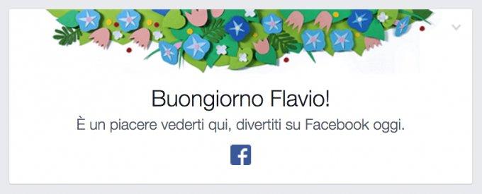 01 buongiorno flavio like su Facebook
