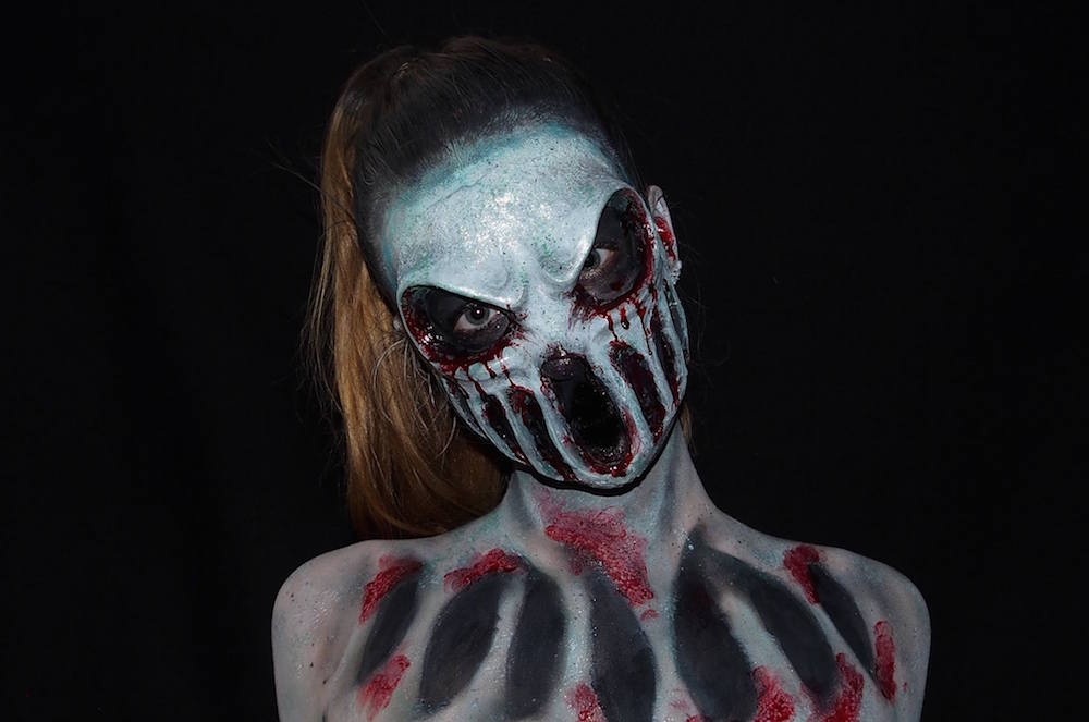 body painting horror