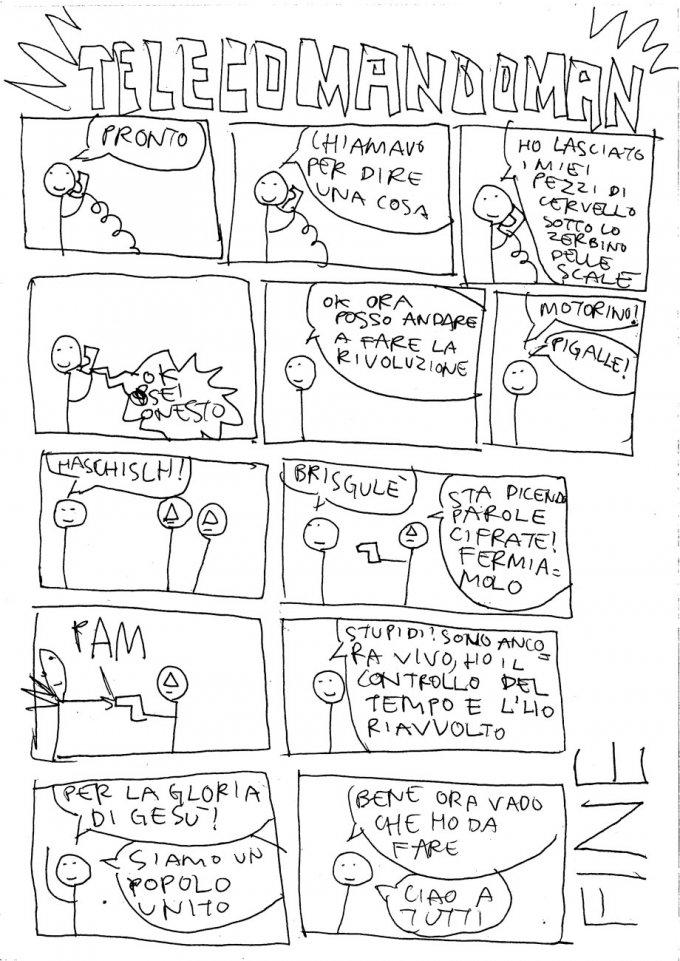 Fumetti della Gleba inediti, ritrovamenti archeologici risalenti al 2001/2002! Leggete e godetene tutti!